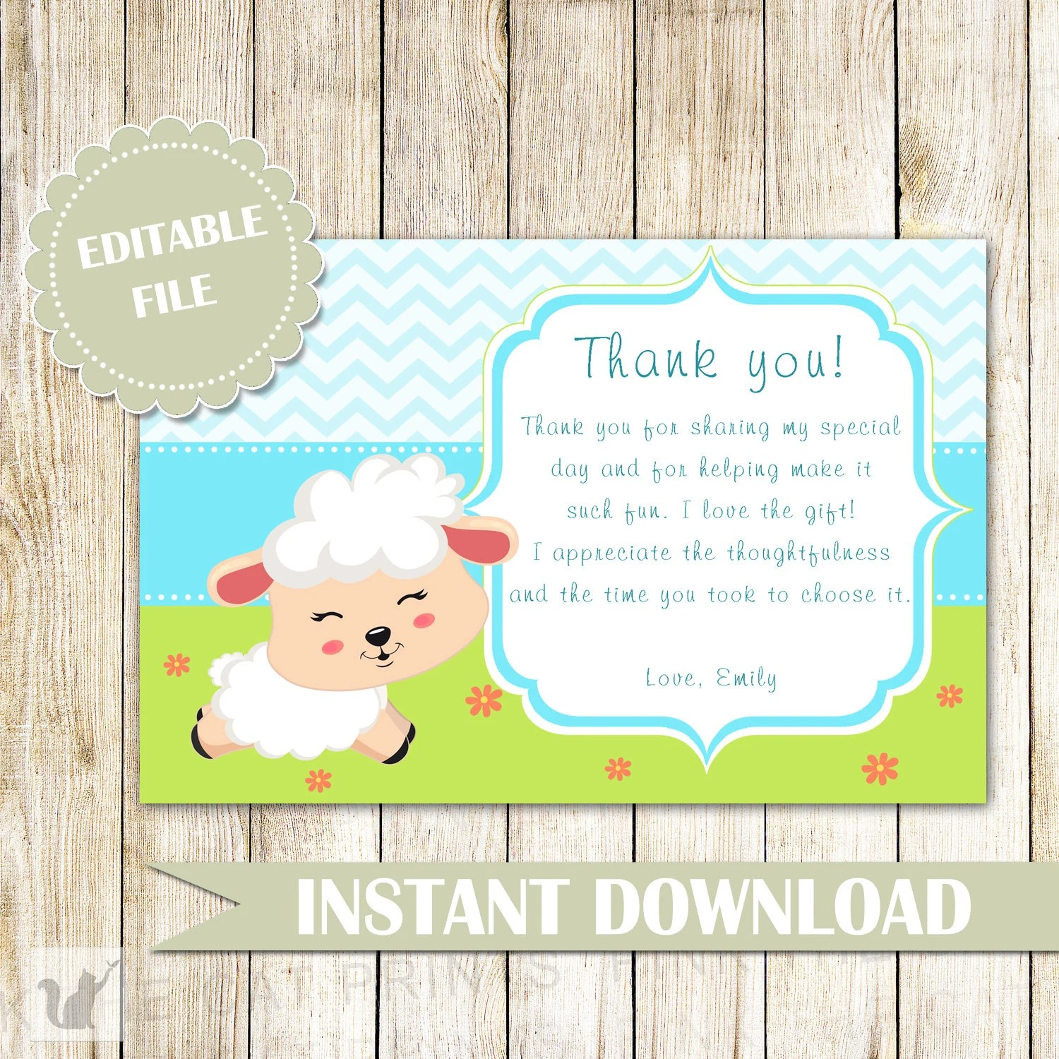 for lamb baby shower birthday party