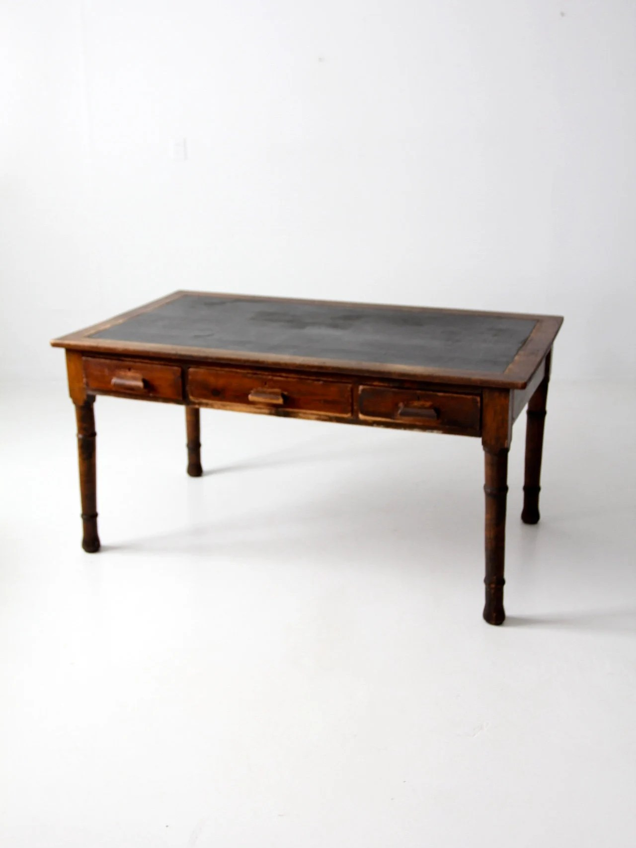 Antique Woodworking Table