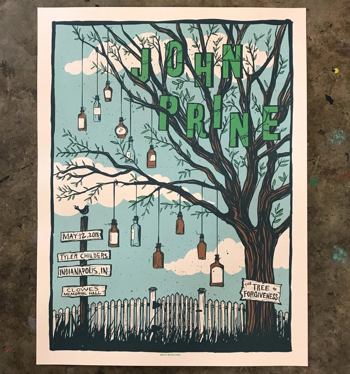 https www etsy com nz listing 616240677 john prine official limited edition show sold out detail 1