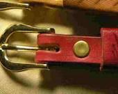 Pink belt, thin pink belt...
