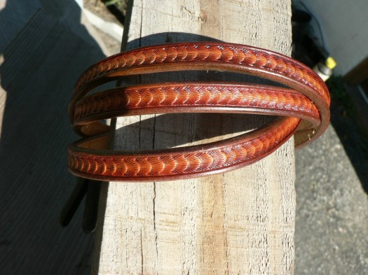 Ladies belt , custom leat...