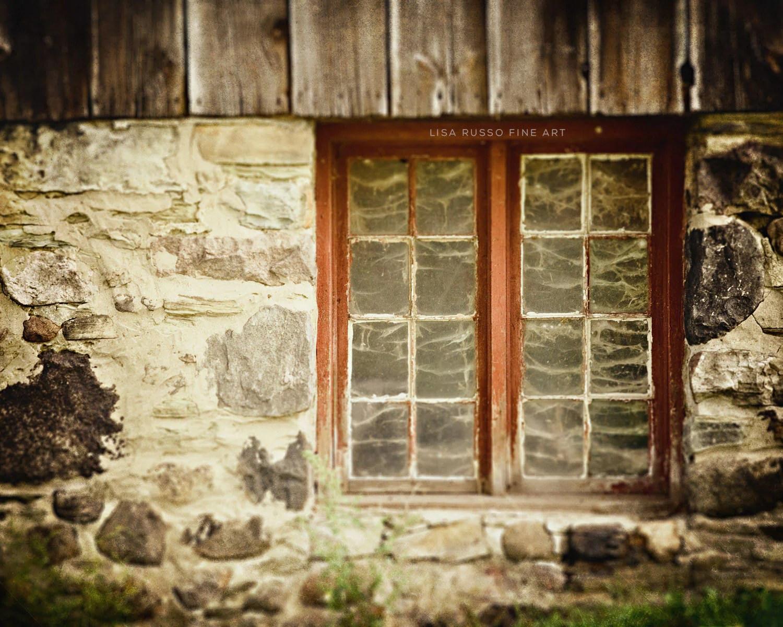 Farmhouse Decor Barn Art Rustic Home Decor Grey Red