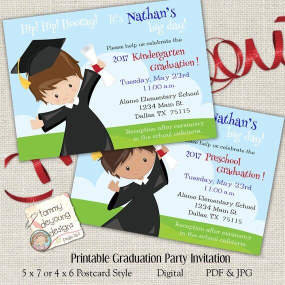 Custom Graduation Invitations 2017