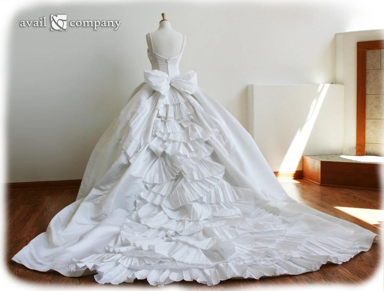 Cinderella Wedding Dresses Ball Gown Wedding Dress Custom