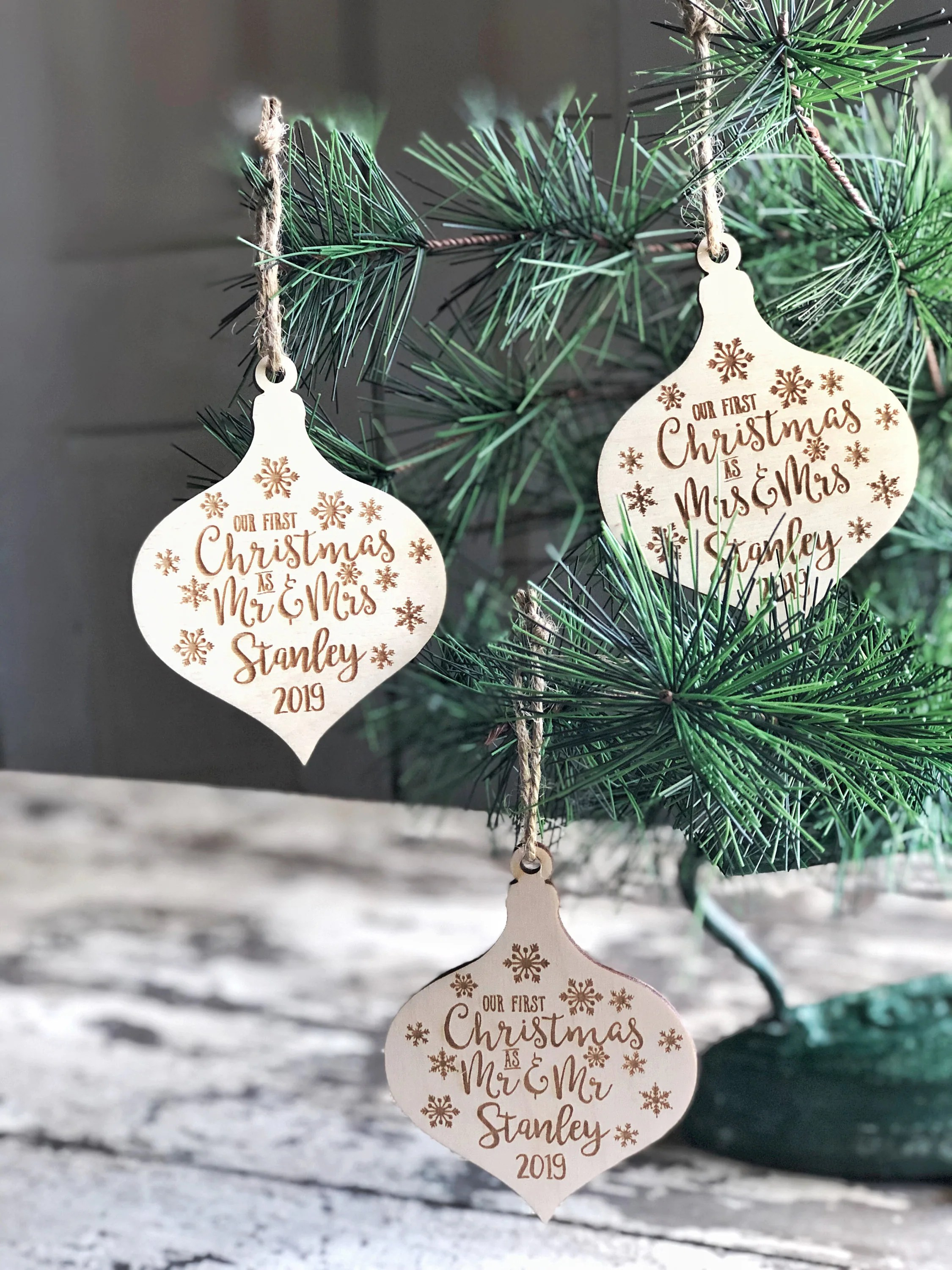 Our First Christmas Ornament 2019