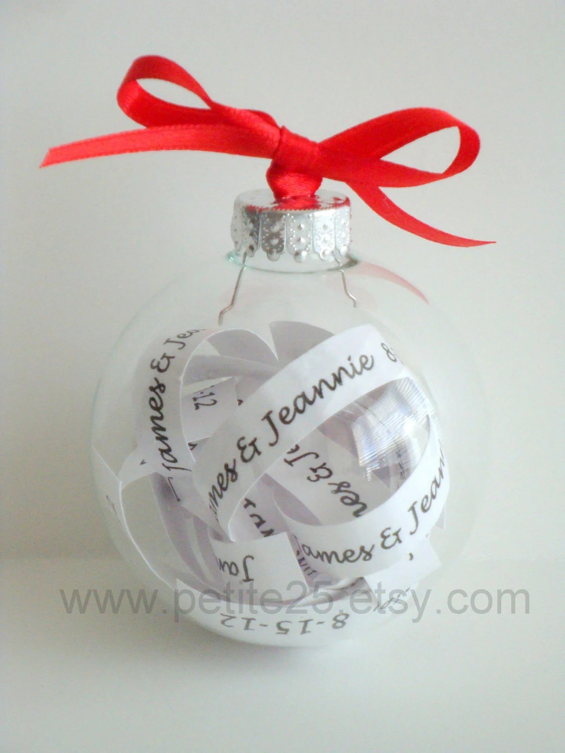Christmas Ornament Keepsake Will You Be My Bridesmaid Maid