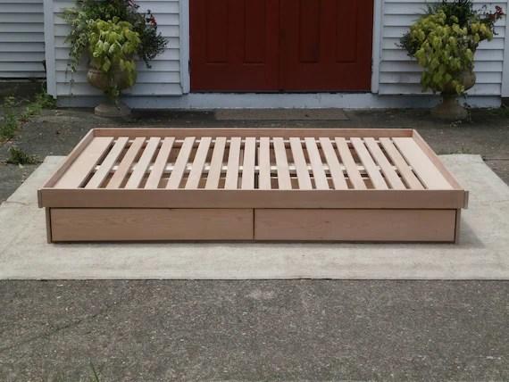 Cantilever Bed Frame