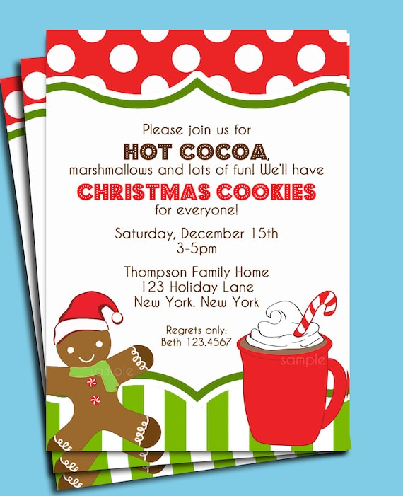 Cookie Decorating Party Invitations Free