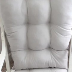 Cushions For Glider Chairs Amazon Lounge Chair Cushion Etsy Rocker Replacement