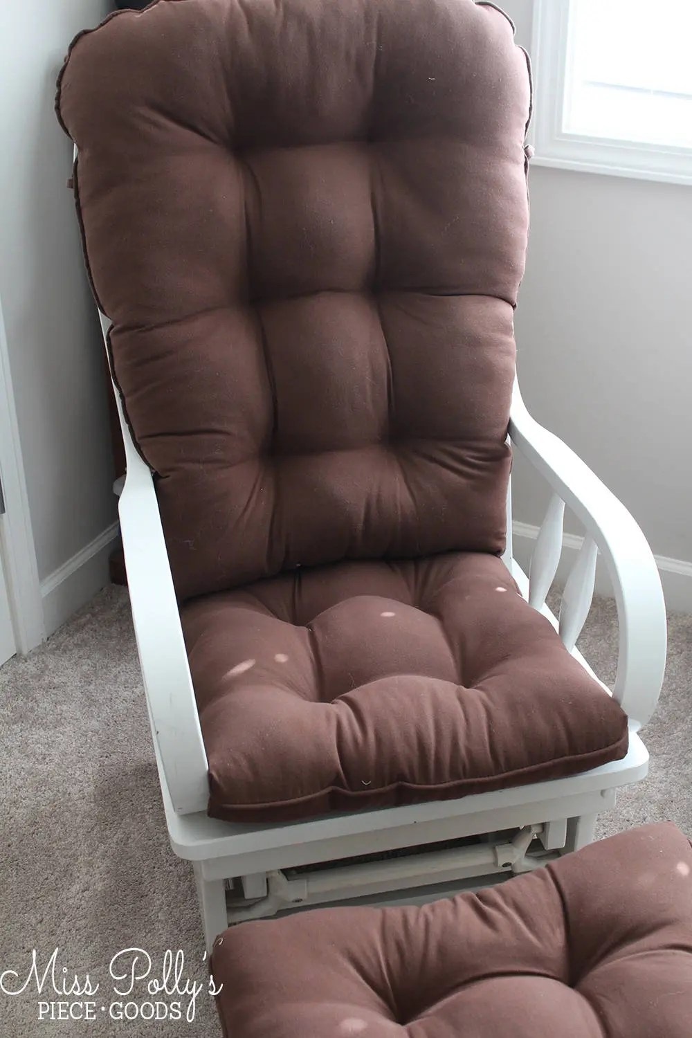 rocking chair ottoman cushions west elm swivel glider etsy image 0