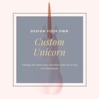 Design Your Own Unicorn   Etsy
