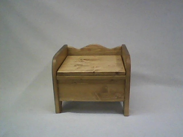 wooden potty chair patio chaise lounge chairs under 100 etsy little denver with hinged lid