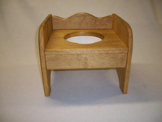 wooden potty chair folding white the little denver etsy image 0