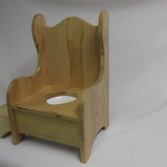 Wooden Potty Chair Removable Dining Seat Covers Etsy Image 0