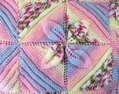 Hand knitted-Baby blanket...