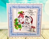 Pack of 5 Christmas Card-...