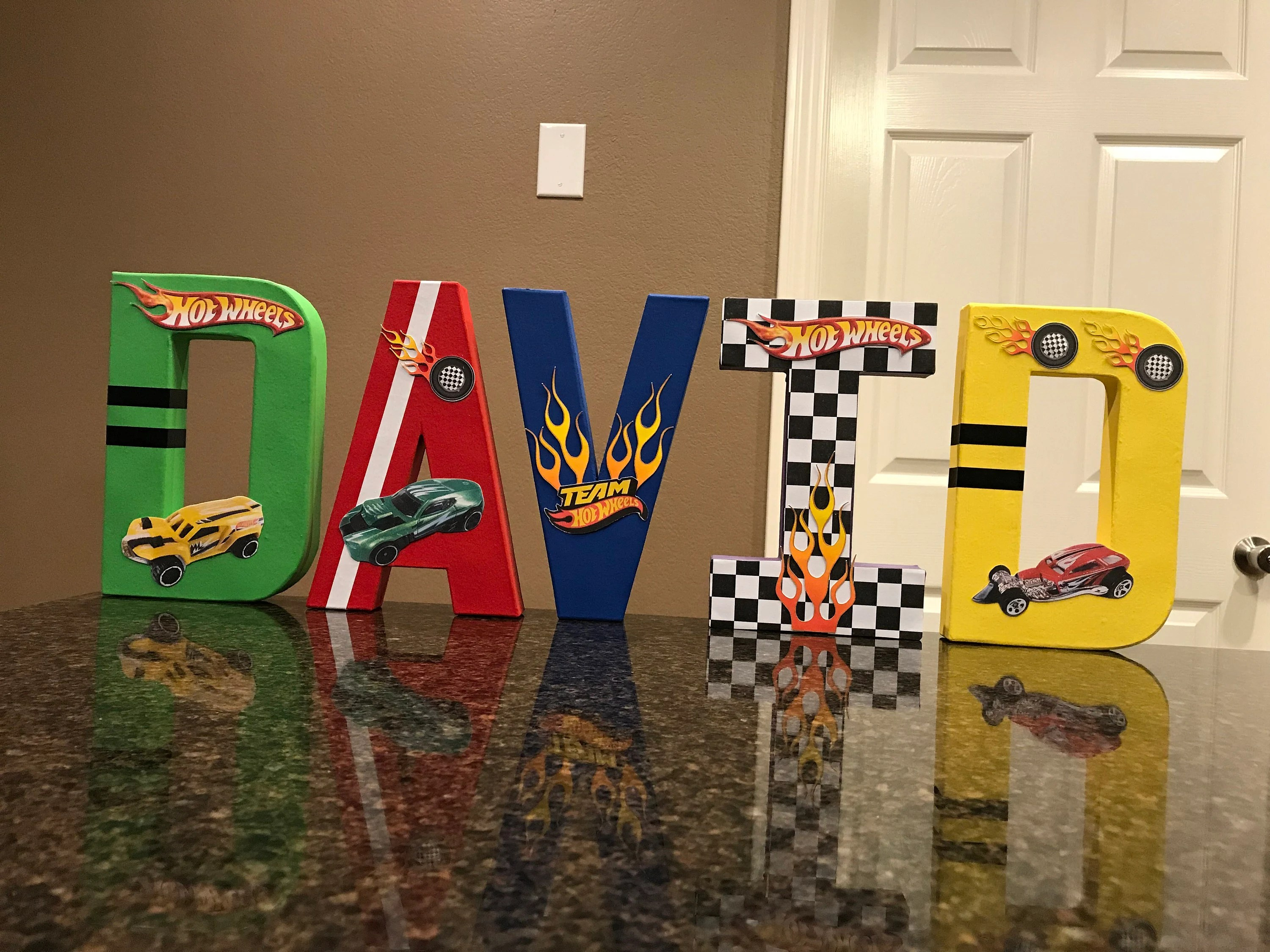 Hot Wheels Custom Name Letters Price Is Per Letter