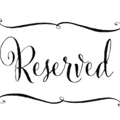 Reserved Signs For Chairs Template X Rocker Pedestal Gaming Chair Argos Aisle Etsy Wedding Signage Calligraphy Sign In Custom Color Rehearsal Dinner Or Ceremony