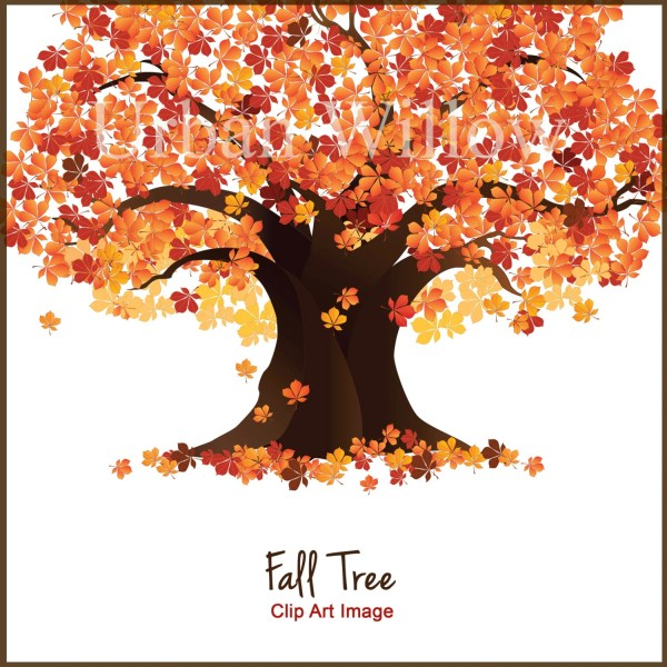 tree clip art fall trees autumn