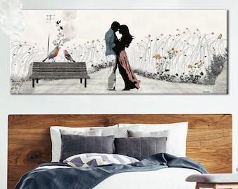 bedroom wall art canvas