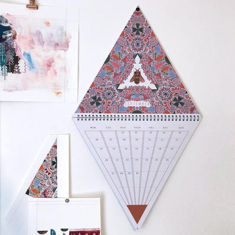 2021 Triangle Wall Calendar image 4