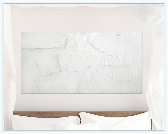 white painting etsy