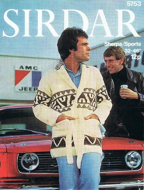 Starsky Et Hutch Voiture : starsky, hutch, voiture, Starsky, Hutch, Cardigan, Vintage, Knitting, Pattern