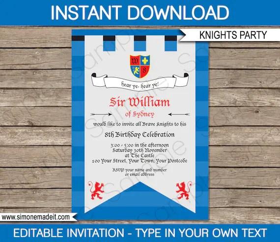 printable birthday party invite