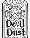 Devil Dust Apothecary Embroidered Waffle Weave Hand Dish Towel Etsy