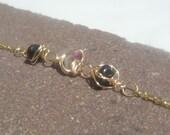 Tourmaline Bracelet of Cr...