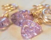 Lavender Quartz Loc Jewel...