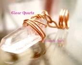 Clear Quartz Loc Jewelry/...