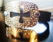 Cross Leather Bracelet fo...