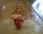 Pyramid Signs toe ring...