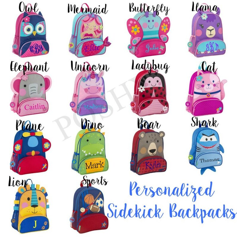 personalized backpack personalized toddler