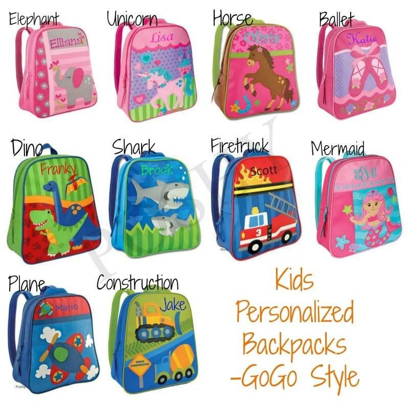 personalized kids backpacks stephen