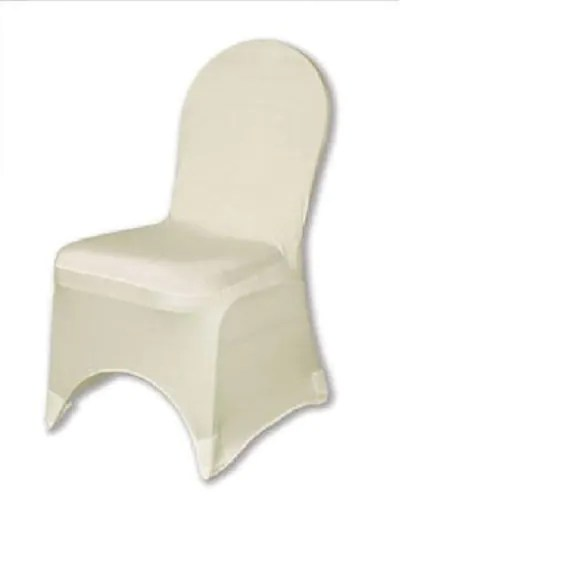 ivory chair covers spandex swivel cuddle york cover stretch wedding ballroom etsy image 0