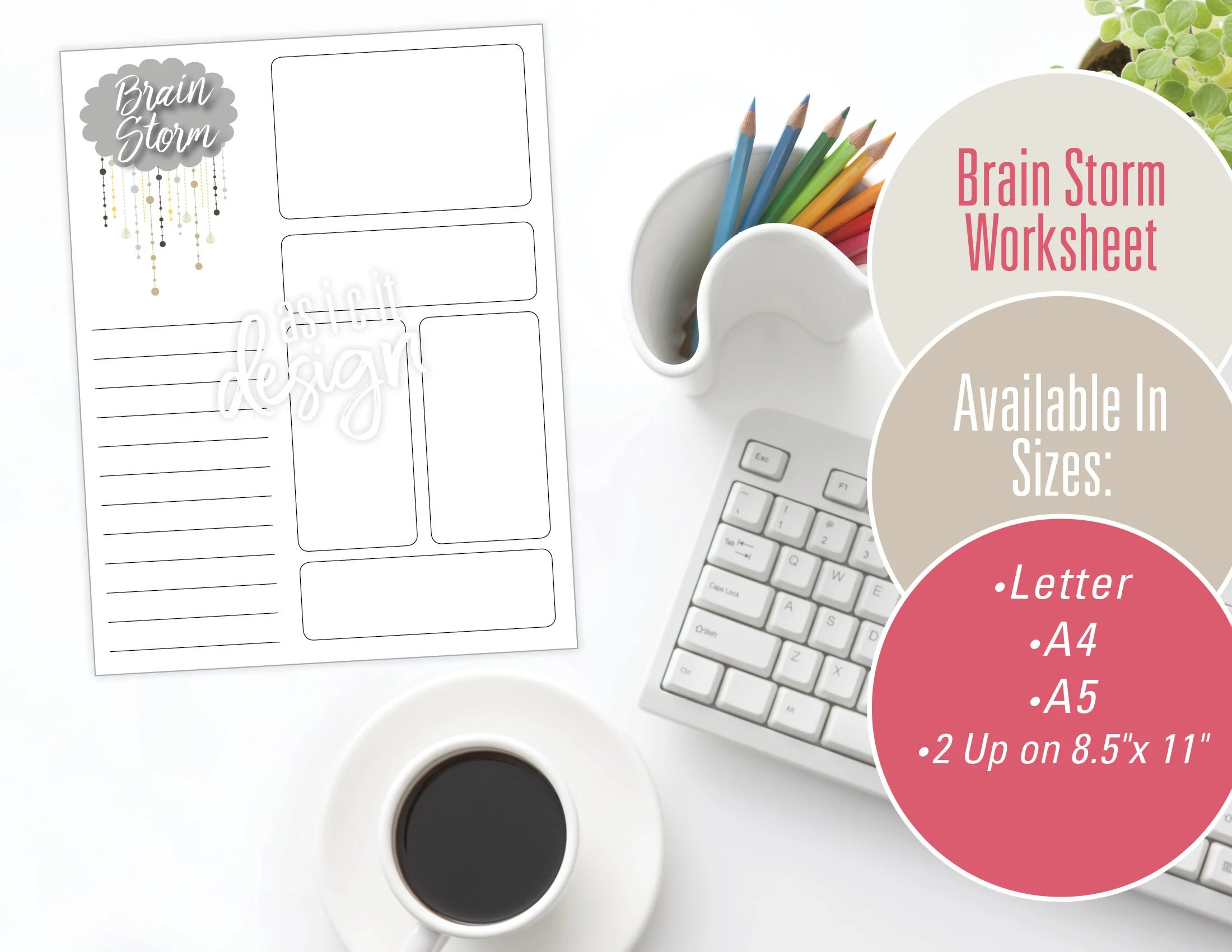 Brain Storm Worksheet