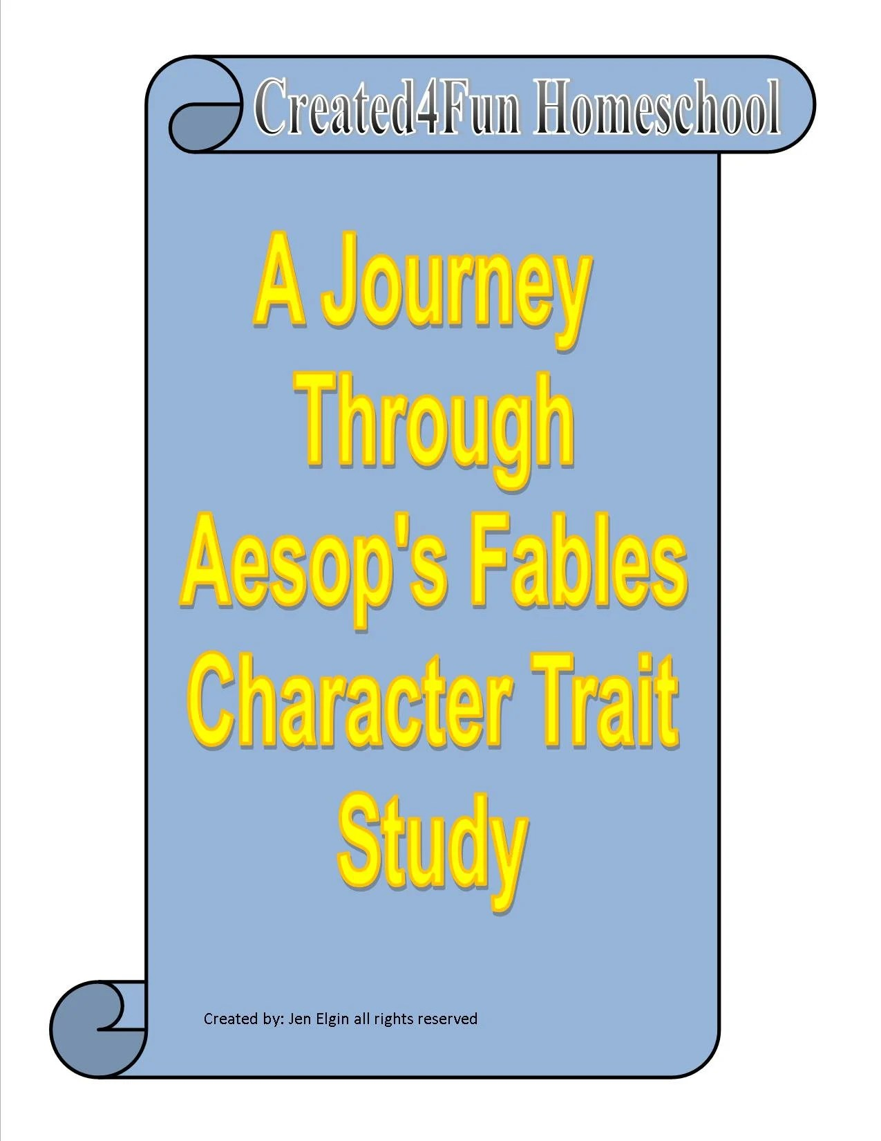 A Journey Through Aesop S Fables Character Traits Study