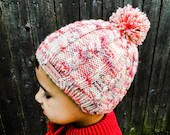 Knit Pattern - Hat - Bean...