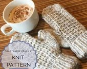 Knit Pattern - Mittens - Gloves - Winter - Fall - Fashion - Women's Accessories