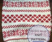 Hearts Cowl | Knit Pattern | Accessories | Cowl | Knit - Pattern