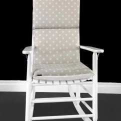 Polka Dot Rocking Chair Cushions Perfect Posture In Ikat Cushion Custom Size Etsy Image 0