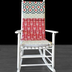 Polka Dot Rocking Chair Cushions Swing Hyderabad Cushion Cover Grey Patchwork Seat Covers Ready To Ship