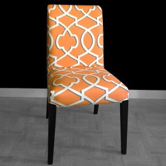 Ikea Orange Chair Covers High For Baby Girl Custom Henriksdal Dining Cover Etsy Image 0