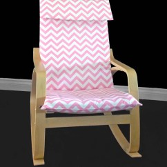 Pink Chair Covers Ikea Uk Wholesale Custom Cover Poang Cushion Slip Baby Etsy Image 0