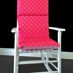 Polka Dot Rocking Chair Cushions Folding Beach Chairs Target Australia Pink Lime Cushion