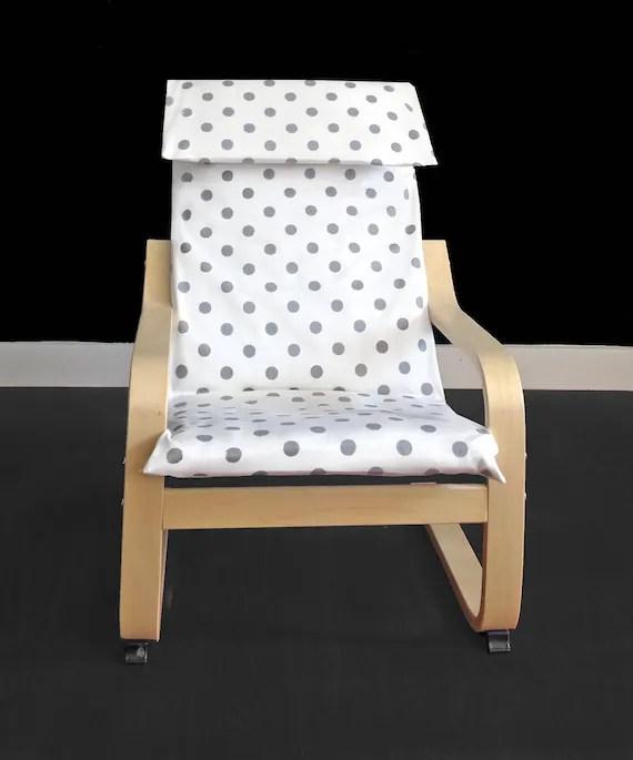 Polka Dot Ikea Bambini Poäng Fodera Per Cuscino