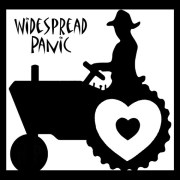 widespread panic sticker love tractor