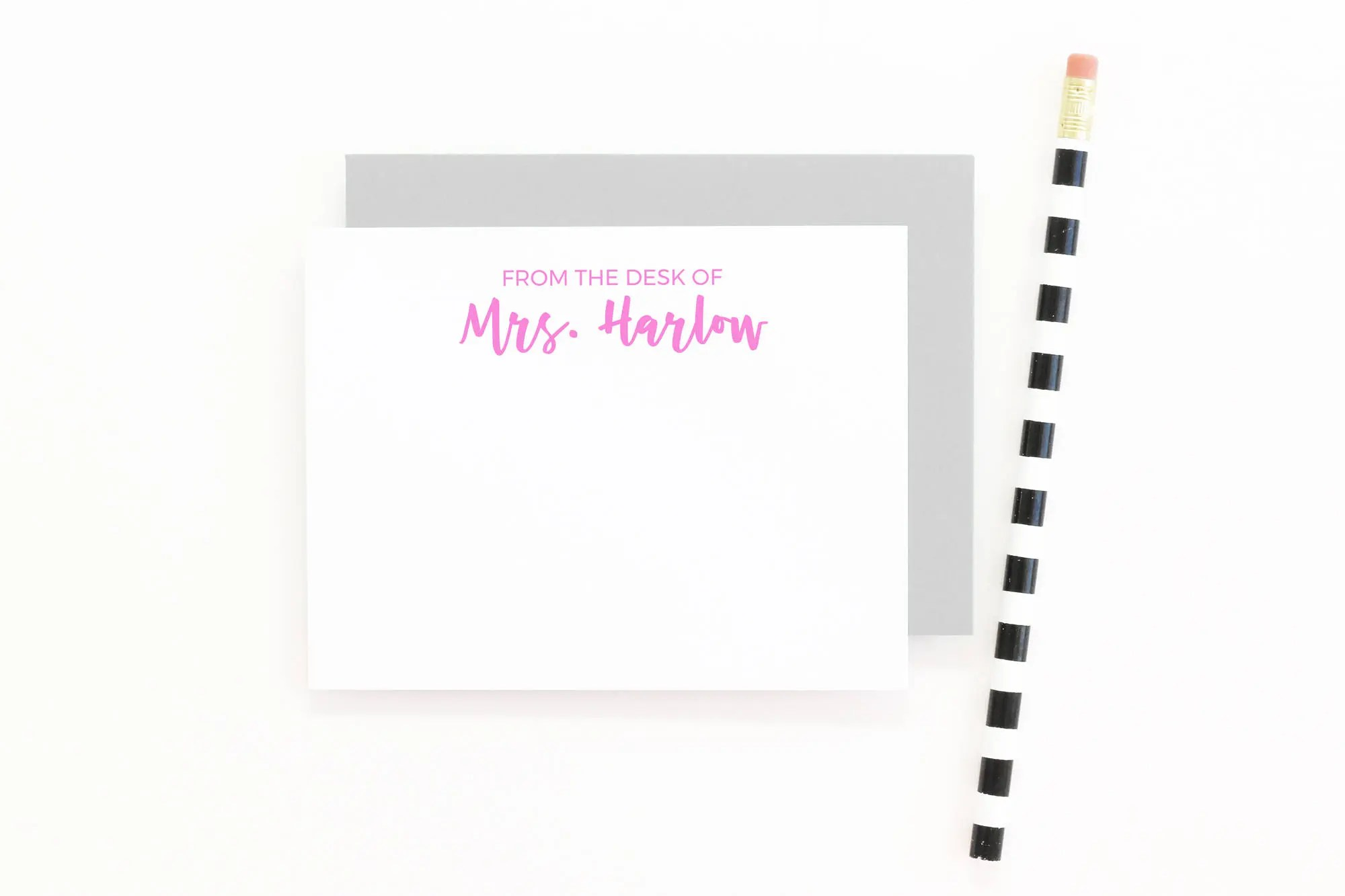 personalized teacher stationary personalized